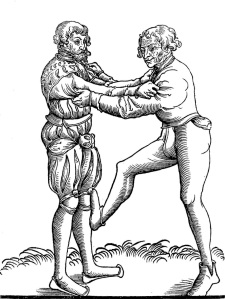 A knee-stomp from Fabian von Auerswald.